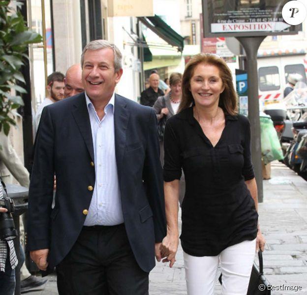 Cécilia et Richard Attias à Paris, le 29 septembre 2011.