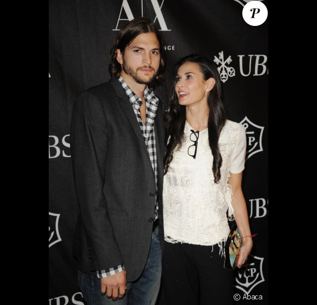 Demi Moore et Ashton Kutcher en juin 2011 à New York
