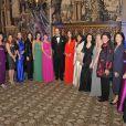 Parrain des deux organismes, le prince William, accompagné de sa divine Kate Middleton sublimée dans une robe rouge Beulah London, assistait jeudi 13 octobre 2011 au gala caritatif du 100 Women in Hedge Funds au profit de The Child Bereavement Charity.