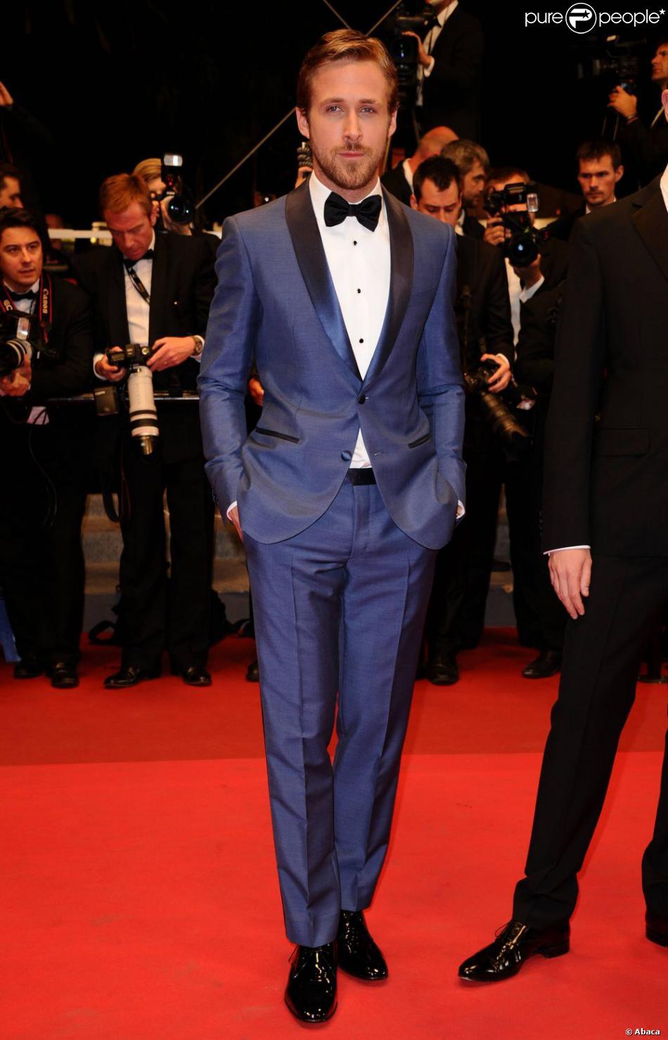 Fantastic Ryan Gosling, en costume Salvatore Ferragamo, se la joue James  HG19