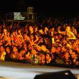 Une ambiance de folie durant le concert de la Tolérance à Agadir au Maroc le 15 octobre 2011