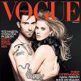 Adam Levine et sa compagne Anna Vyalitsina en couverture de Vogue. En octobre 2011, le chanteur se signale en s'en prenant à Fox News.