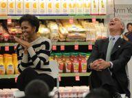 Michelle Obama met les mains dans la terre, mais n'oublie pas Barack
