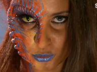 Malika Ménard : Métamorphosée en extraterrestre, elle reste divine