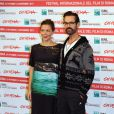 Maggie Gyllenhaal et Rupert Everett pour le photocall de Oh my God lors du festival de Rome - 28 octobre 2011