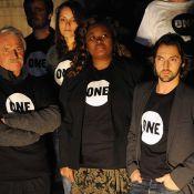 Frédéric Diefenthal et Yann Arthus-Bertrand rassemblés à l'appel de Bono