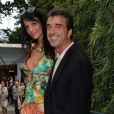 Jade Foret et Arnaud Lagardère à Roland Garros en mai 2011