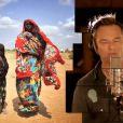 David Hallyday dans le clip  Des Ricochets , 60 artistes pour l'Unicef, octobre 2011.