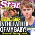 Le magazine  Star  du jeudi 3 novembre 2011 présente Mariah Yeater et son bébé.
