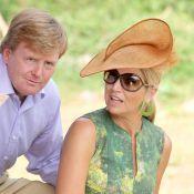 La princesse Maxima peaufine son arc-en-ciel de looks sur l'île de Saba