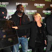 Valérie Damidot, Omar, David Hallyday bouillants pour le grand raid Call of Duty