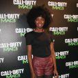 Inna Modja pour  Call of Duty: Modern Warfare 3 , qui a vécu un lancement en grande  pompe au palais de Chaillot, à Paris, le 7 novembre 2011. Activision  avait vu les choses en grand et convié de nombreux VIP.