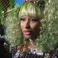 Nicki Minaj lors du défilé Versace pour H&M, à New York, le 8 novembre 2011
