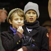 Les jeunes princes Felix et Nikolai n'ont pas manqué la chasse de l'année