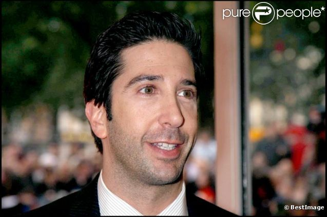 David Schwimmer, à Londres, le 3 septembre 2007.