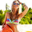 """Marloes Horst pose en bikini pour la marque Seafolly."""