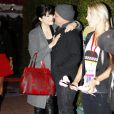 Selma Blair et Jason Bleick lors de la soirée Harajuku / Target, à Los Angeles, le 12 novembre 2011