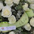 Obsèques de Janet Wollacott (Woolcoot), qui fut l'unique épouse de Claude François, au Crématorium du Parc à Clamart, le 16 novembre 2011. jennifer Bécaud, fille qu'elle eut avec Monsieur 100 000 Volts, était présente.