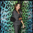 Emma de Caunes lors de la shopping party Versace et H&M à Paris le 16 novembre 2011
