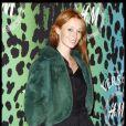 Audrey Marnay lors de la shopping party Versace et H&M à Paris le 16 novembre 2011