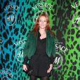 Audrey Marnay lors de la soirée  shopping party de H&M pour le lancement de la collection Versace. Le  16 novembre 2011