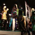 Soirée  shopping party de H&M pour le lancement de la collection Versace. Le  16 novembre 2011