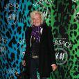 Ellen von Unwerth lors de la soirée  shopping party de H&M pour le lancement de la collection Versace. Le  16 novembre 2011