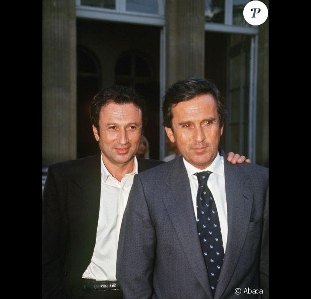 Jean Michel et Michel Drucker