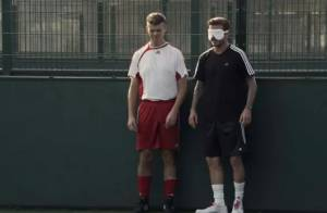David Beckham perd tous ses moyens au cours d'un match émouvant