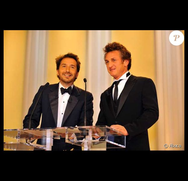 Edouard Baer et Sean Penn
