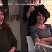 50 Minutes Inside : Florence Foresti, hilarante, dévoile des secrets