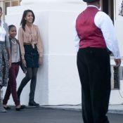 Michelle Obama, éclipsée par sa jolie fille, accueille un locataire piquant