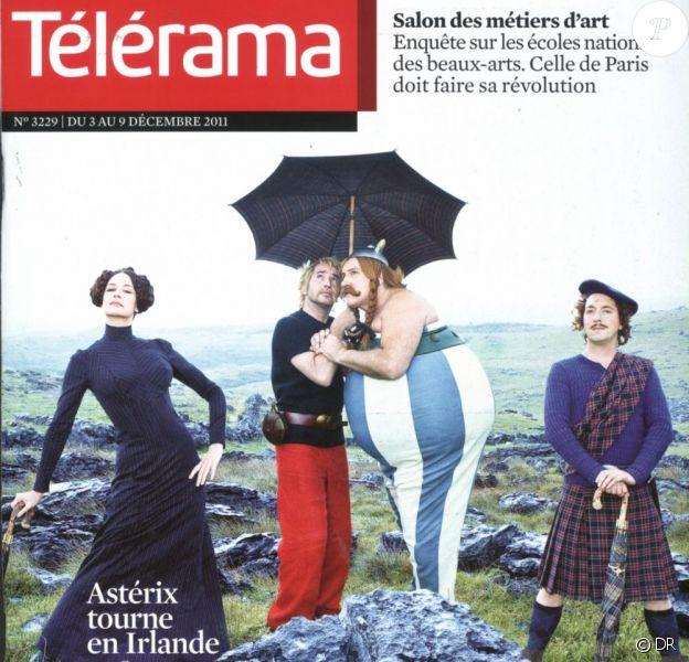 La couverture de Télérama, en kiosque le 3 décembre 2011.