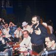 Francis Ford Coppola en conférence de presse pour Apocalypse Now, à Cannes en 1979.
