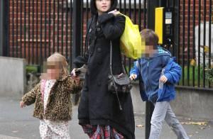 Helena Bonham Carter et Tim Burton, fantasques aux côtés de leurs enfants