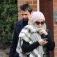 Kate Hudson et son chéri Matthew Bellamy se rendent au sport à Londres le 6 décembre 2011