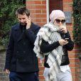 Kate Hudson et son chéri Matthew Bellamy vont à la salle de gym à Londres le 6 décembre 2011