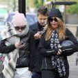 Kate Hudson accompagnée de son amoureux Matthew Bellamy à Londres le 6 décembre 2011