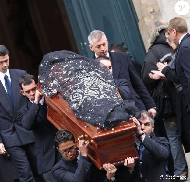 Obsèques de François Lesage. Le mercredi 7 décembre 2011 à Paris. Eglise Saint-Roch.