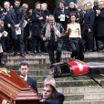 Grande émotion aux obsèques de François Lesage. Le mercredi 7 décembre 2011 à Paris. Eglise Saint-Roch.
