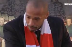 Thierry Henry : Les larmes du buteur lors d'un hommage grandiose