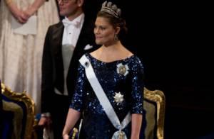Victoria de Suède, princesse et future mère resplendissante pour les prix Nobel