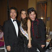 Barbara Morel, Miss Nationale, rivalise d'élégance avec Indra et Mia Frye