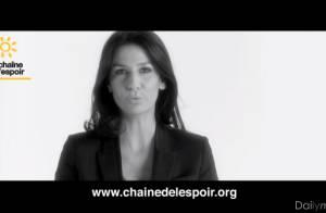 Marie Drucker : Pleine d'espoir pour un enfant qu'elle veut sauver