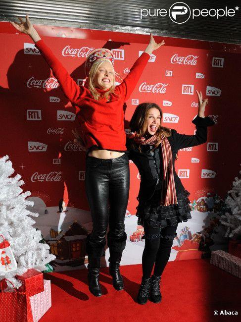 Victoria Abril et Anna Sherbinina lors d'une soirée au profit de l
