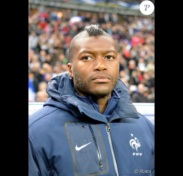 Djibril Cissé le 7 octobre 2011 à Saint-Denis
