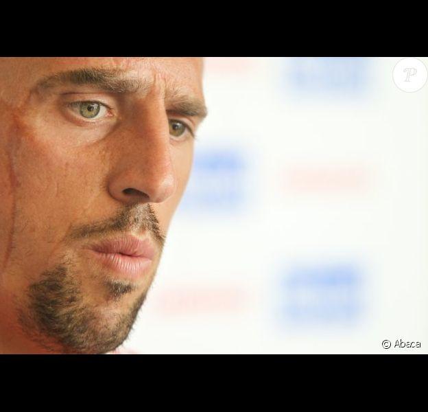 Franck Ribéry le 7 juillet 2011 à Arco en Italie