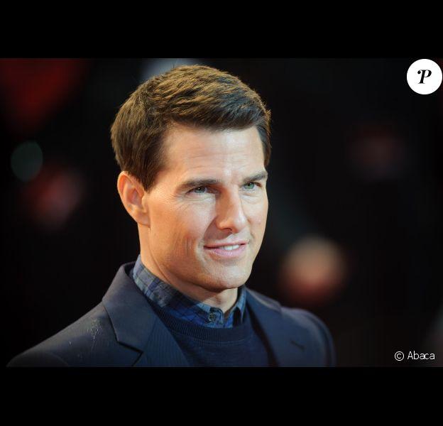 Tom Cruise à Londres le 13 décembre 2011