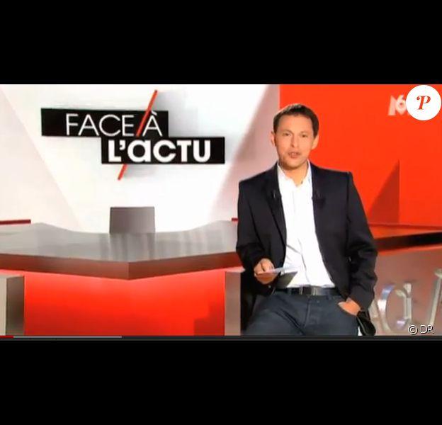 Marc-Olivier Fogiel doit faire ses adieux à Face à l'Actu sur M6