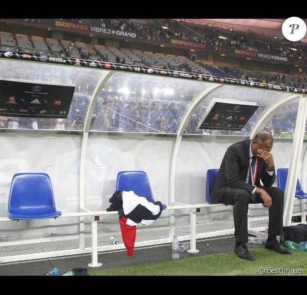 Antoine Kombouaré le 1er mai 2010 au Stade de France